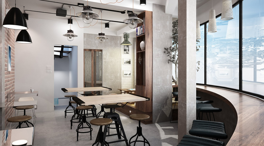 Thiết Kế Quán Cafe Tại Nghệ An Hà Tĩnh