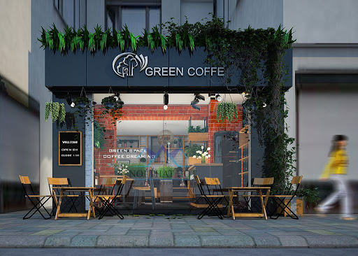 thiết kế thi công quán cafe tại nghệ an hà tĩnh