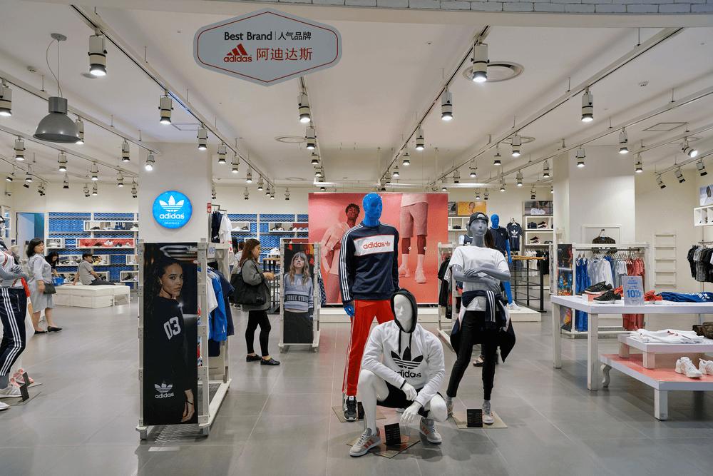 Thiết Kế Showroom Adidas Tại TP Vinh Nghệ An