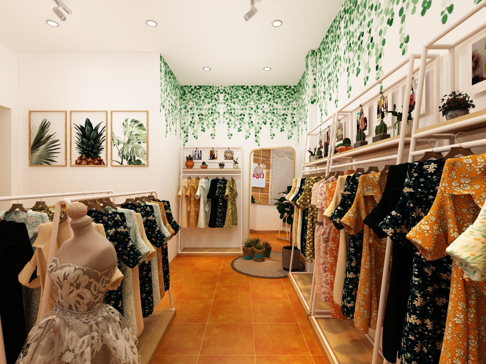 Thiết Kế Shop quần áo tại Tp Vinh, Nghệ An