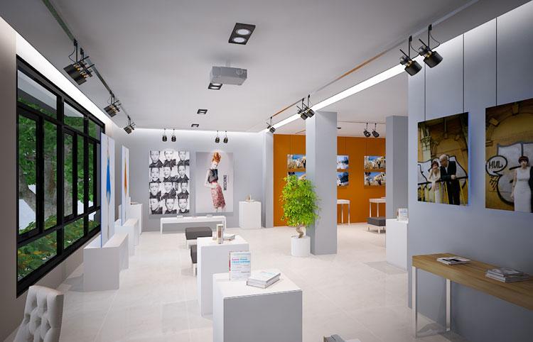 Tư vấn thiết kế cửa hàng tại Nghệ An Hà Tĩnh