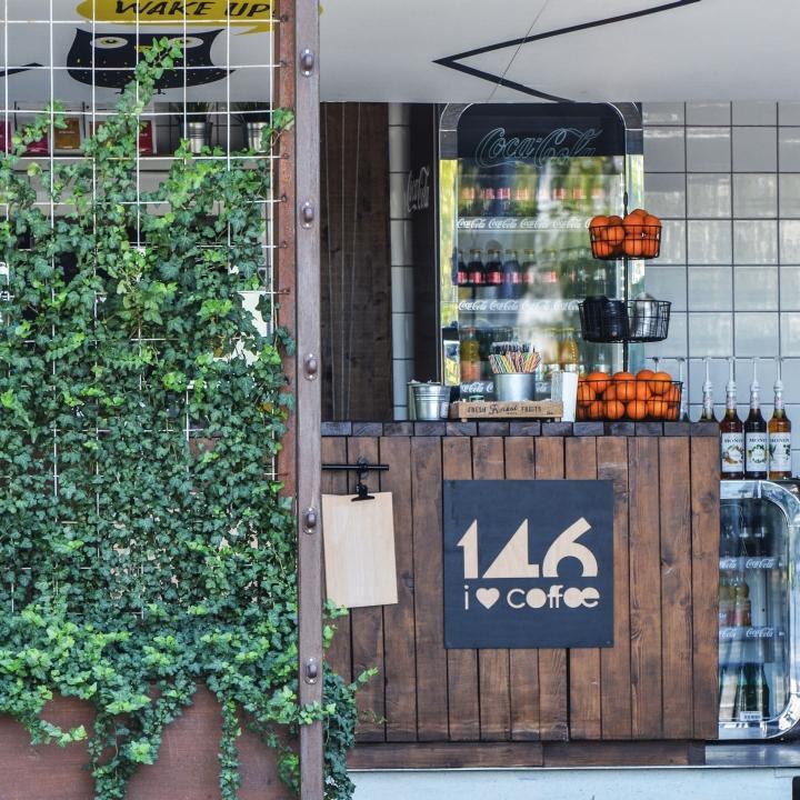 Thiết kế quán cafe không gian mở tại TP Vinh, Nghệ An