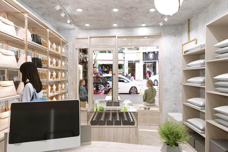 Thiết Kế Shop Thời Trang Minh Phạm Authentics