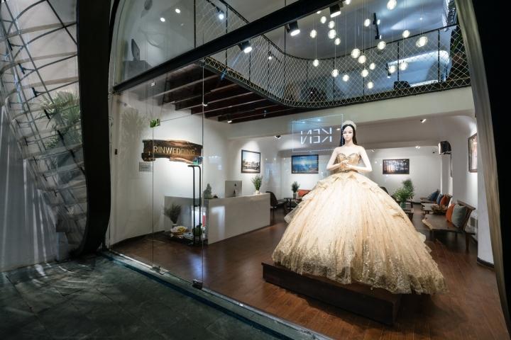 Thiết Kế Showroom Áo Cưới Tại Tp Vinh Nghệ An